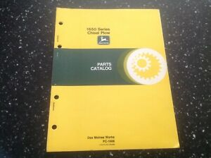 John Deere 1650 Series Chisel Plow Parts Catalog Pc 1688