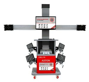 3d Wheel Alignment System Wheel Aligner Machine Fully Automatic Dual Screens