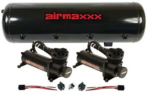 Air Ride Suspension 480 Air Compressors 8 Gallon Steel Tank 150 Psi Off Switch