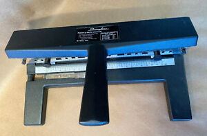 Acco 440 Swingline Industrial Heavy Duty Adjustable 3 Hole Punch W Measurements