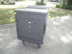 Cambro Cmbh1826l Camtherm Electric Mobile Food Holding Cabinet Hot Box Warmer