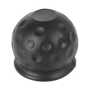 1 97 Inch Universal Vehicle Tow Bar Ball Cover Rubber Towing Hitch Protect Cap