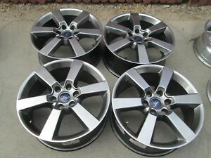 20 Ford F150 Factory Fx4 Charcoal Wheels Rims Set 4 D