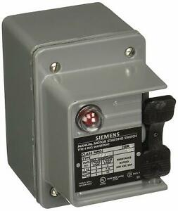 Siemens Mmskw1 Toggle Motor Starter On off Waterproof Switch With Pilot Light