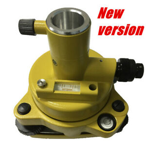 New Yellow Tribrach Adapter With Optical Plummet For Total Station Surveying