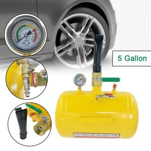 5gallon Air Tire Bead Seater Blaster Tool 145psi Seating Inflator For Truck Atv