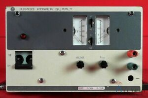 Kepco Jqe36 15m H205088 Dc Power Supply 0 36v 15a