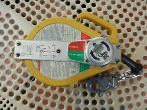 Used Dbi sala Rsq Srl 3504552 Ultra lok Stainless Steel Cable Lifeline 50 Ft