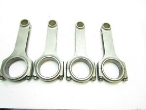 Sb Chevy 6 Connecting Rods Crower Drag Racing Eagle Scat Carrillo 7