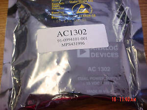 Analog Devices Dual Power Supply Ac 1302 Ac1302 New