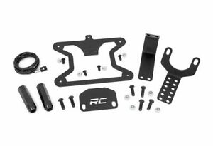 Rough Country Spare Tire License Plate Mount For 18 19 Wrangler Jl 10534