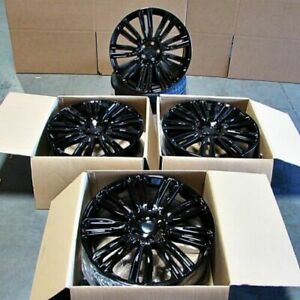 22x9 5 5x120 Wheels For Range Rover Sport Hse Land Rover Lr3 Lr4 Set 4 Rims