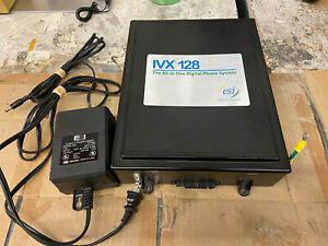 Esi Ivx128 Ivx20 Phone System Cabinet W Power Supply