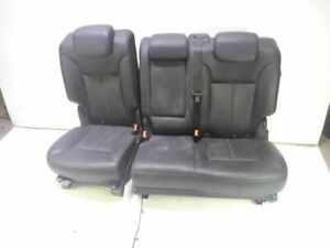 07 Mercedes Gl450 Rear Seat Row Leather Seats Set