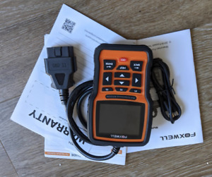 Foxwell Nt510 Obd2 Diagnostic Scanner Coding Cable Bmw mini rr Abs Tps Battery