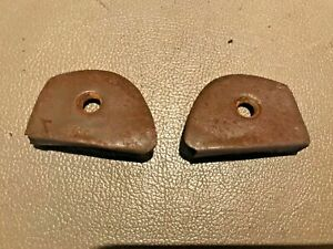 1957 1958 Cadillac Dash Board Panel End Caps Rh Lh Ds Ps Used Original