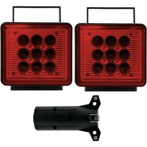 Pilot Magnetic Mounted Wireless Led Towing Lights Nv 5164