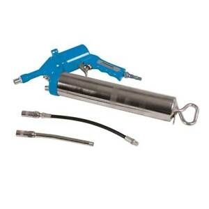 Silverline Air Grease Gun 400cc 280mm With 1 4 Quick Connectors Garage Tools