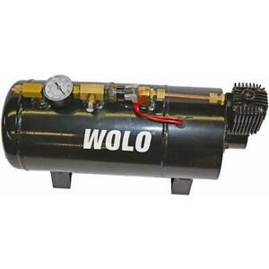 Wolo 830 Sherman Tank Compressor All In One On Board Air Horn System