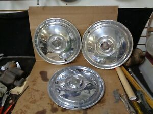 Wheel Covers 1955 1956 Ford Thunderbird Hubcaps Victoria Used Driver Quality