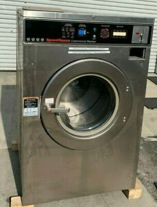 Speed Queen Commercial Front Load Washer Sc40 3ph 40lb refurbished