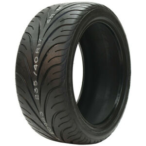 2 New Federal 595 Rs R P255 40zr17 Tires 2554017 255 40 17