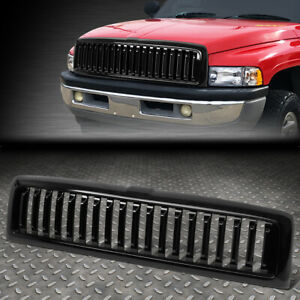 For 94 02 Ram 1500 2500 3500 Vertical Styling Front Bumper Grille Grill Glossy