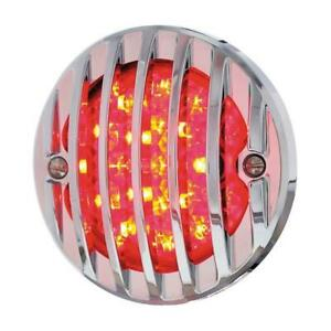 United Pacific 1933 1936 Ford Led Chrome Grille Bezel Tail Light 110661