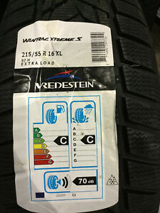 4 New 215 55 16 Vredestein Wintrac Xtreme S Snow Tires