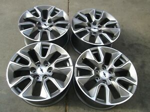 20 Chevy 1500 Silverado Factory Wheels Rims Gmc 1500 Set 4