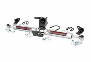 Rough Country N3 Dual Steering Stabilizer For Jeep Wrangler Jl 4wd 87304