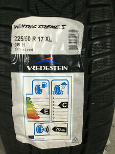2 New 225 50 17 98h Vredestein Wintrac Xtreme S Snow Tires