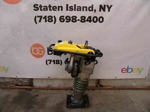 Wacker Neuson Bs60 2i Rammer Tamper Jumping Jack Compactor Runs Great 1