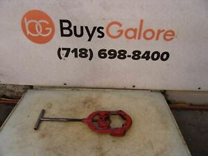 Reed 2 To 4 Inch Hinged Pipe Cutter Great Shape