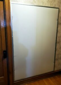 Magnetic Dry erase White Board 48 X 72 Vguc