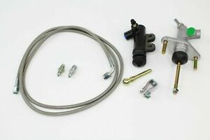 Exedy Slave Master Cylinder Stainless Clutch Line Kit 1992 2001 Honda Prelude