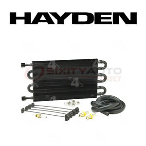 Hayden Transmission Oil Cooler For 1994 2012 Jeep Grand Cherokee 3 6l 3 7l Om