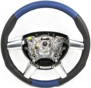 2004 2006 Pontiac Gto Black Blue Leather Steering Wheel New Gm Nos 92209660