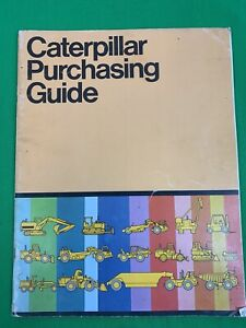Oem Caterpillar Purchasing Guide Brochure Construction Equipment