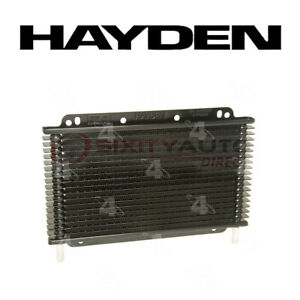 Hayden Transmission Oil Cooler For 1994 2012 Jeep Grand Cherokee 3 6l 3 7l Qq