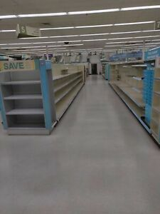 Lozier Gondola Shelving And Pharmacy Shelving For Sale