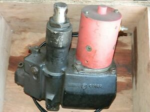 Genuine Fisher Snow Plow Electric Hydraulic Pak Motor Pump For 6 5 Blade Works