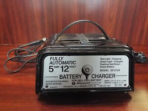 Schumacher Se 5212a 12 Volt Battery Charger