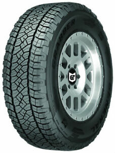 1 New General Grabber Apt 275x60r20 Tires 2756020 275 60 20