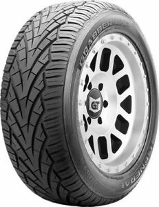 4 New General Grabber Uhp 275 55r17 Tires 2755517 275 55 17