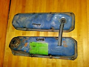 Oem Ford Ford 351c Cleveland Valve Covers Fits 351 M 400
