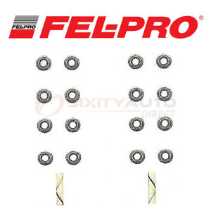 Fel Pro Valve Stem Oil Seal Set For 1988 1999 Toyota Camry 2 0l 2 2l L4 Dr