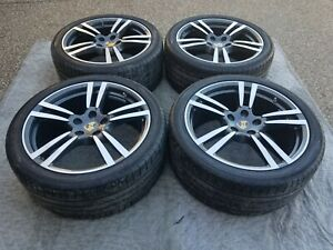 Porsche Cayenne Oem Original Factory 21 Turbo Ii Wheels Tires Tpms