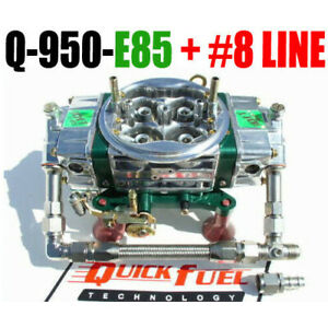 Quick Fuel Q 950 E85 Cfm E 85 Carburetor Qft 8 34 8000 Ss Fuel Line Kit