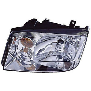 Vw2502125n Head Lamp Assembly Driver Side W O Fog Lamps Type 4